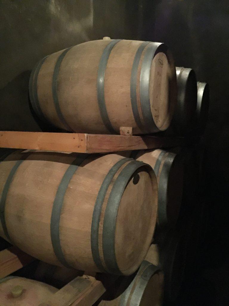 ナイトワインツーリズム ルミエールの樽