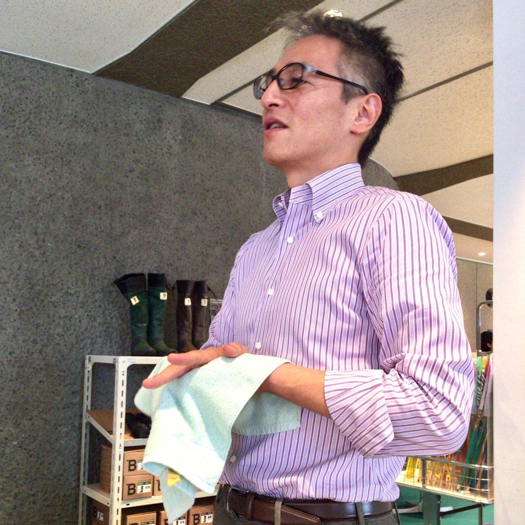 IKEUCHI ORGANIC代表取締役社長の阿部哲也氏