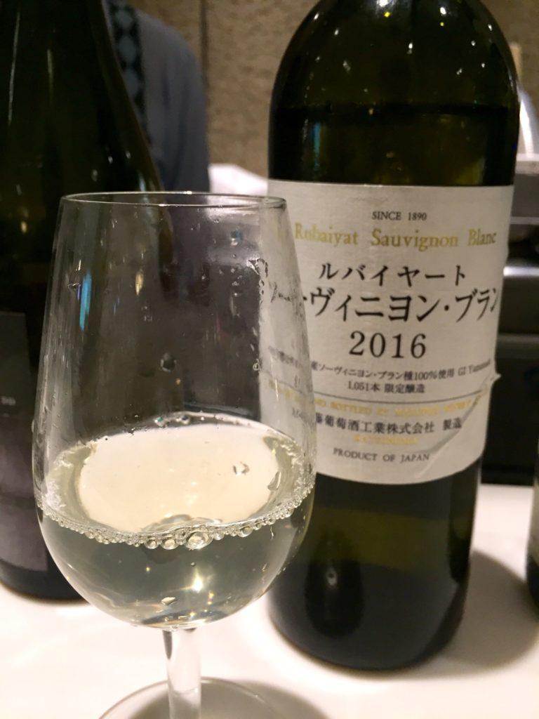 丸藤葡萄酒「ルバイヤート ソービニヨンブラン」