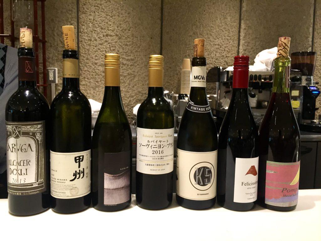 D&DEPARTMENT山梨での立ち飲みワイン会