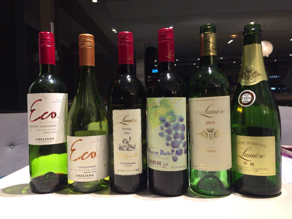 ルミエールのワインを使ったワインスクール「レコール・デュ・ヴァン」によるワインセミナー