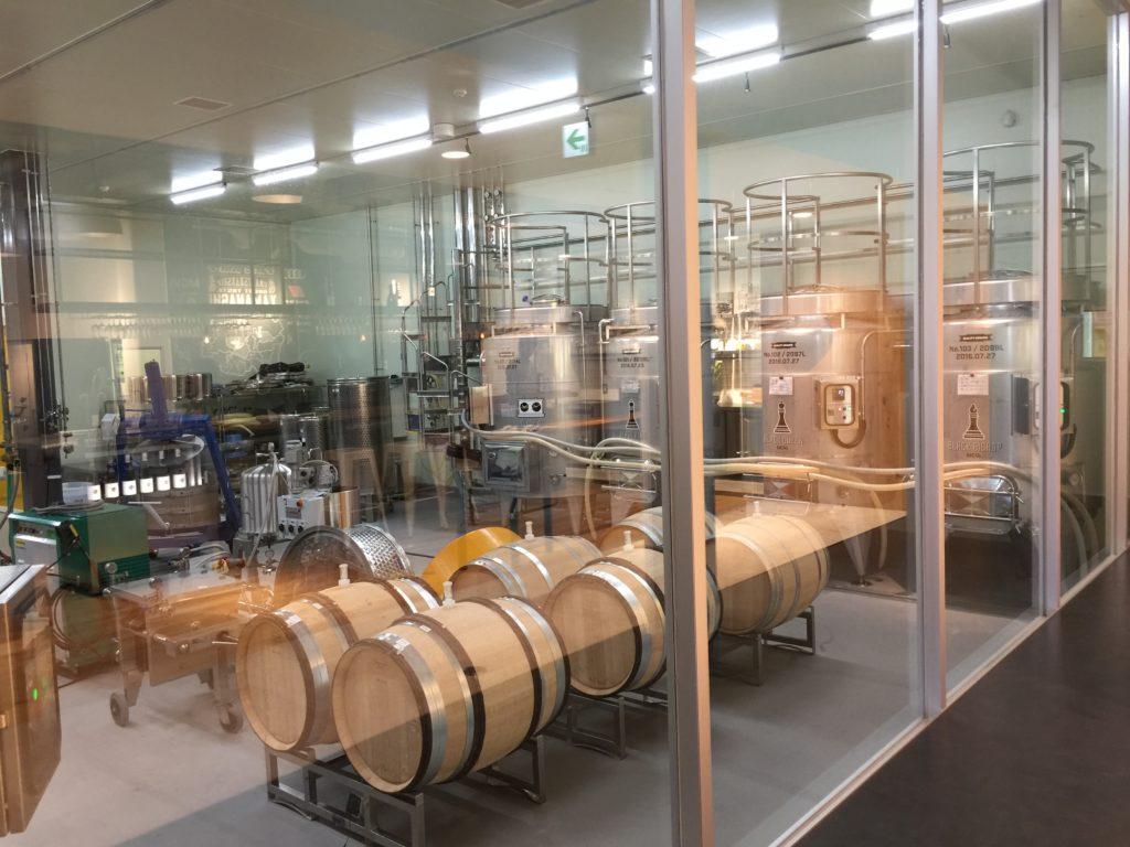 MGVsワイナリー醸造場