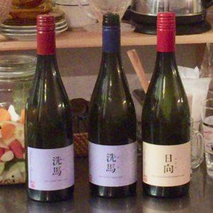 ドメーヌオヤマダの日本ワイン3種