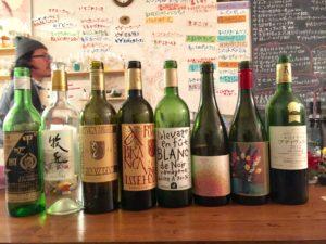 日本ワインと野菜料理のお店「オアシス」にて行われた「新月無尽」