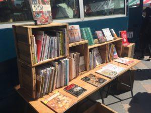 こうふはっこうマルシェで出店していたBOOK BUS by value books