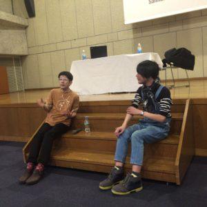 渡邉格氏と小倉ヒラク氏の発酵トークショー