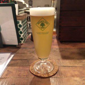 発酵酒場 かえるのより道で飲んだタルマーリーの野生酵母を使ったビール