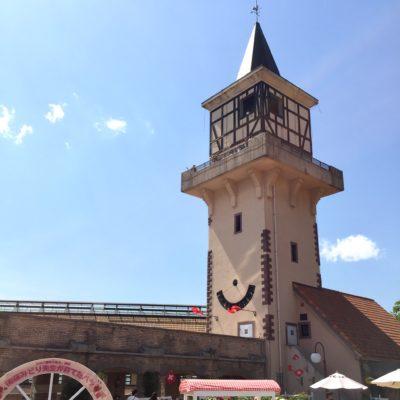 ハイジの村の展望塔