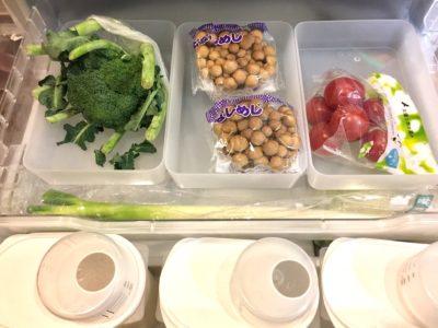MUJI 無印良品:ポリプロピレン整理ボックスで冷蔵庫の整理収納