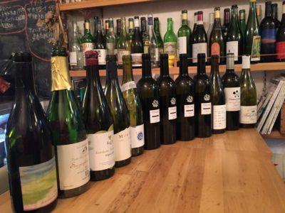 日本ワイン会、ボーペイサージュの垂直飲みとドメーヌミエイケノ、ファンキーシャトー
