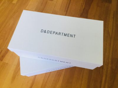 D&DEPARTMENT 靴箱