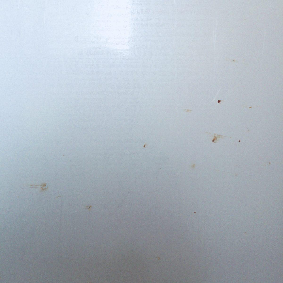 マグネットフックを使って発生した浴室内のサビ