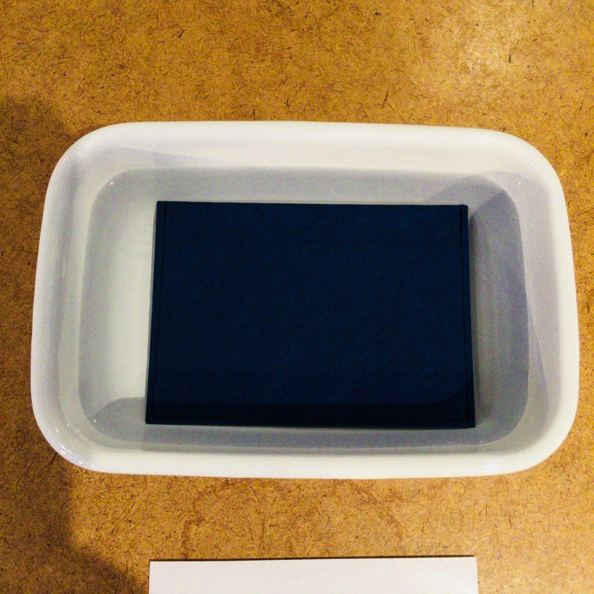S I W A | 紙 和の耐水性テスト