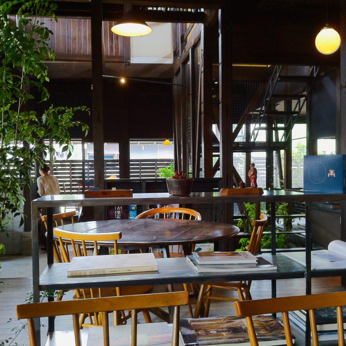 富士川町時代のNICE TIME CAFEのインテリア