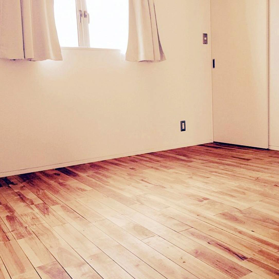 減災のための何も置かない寝室