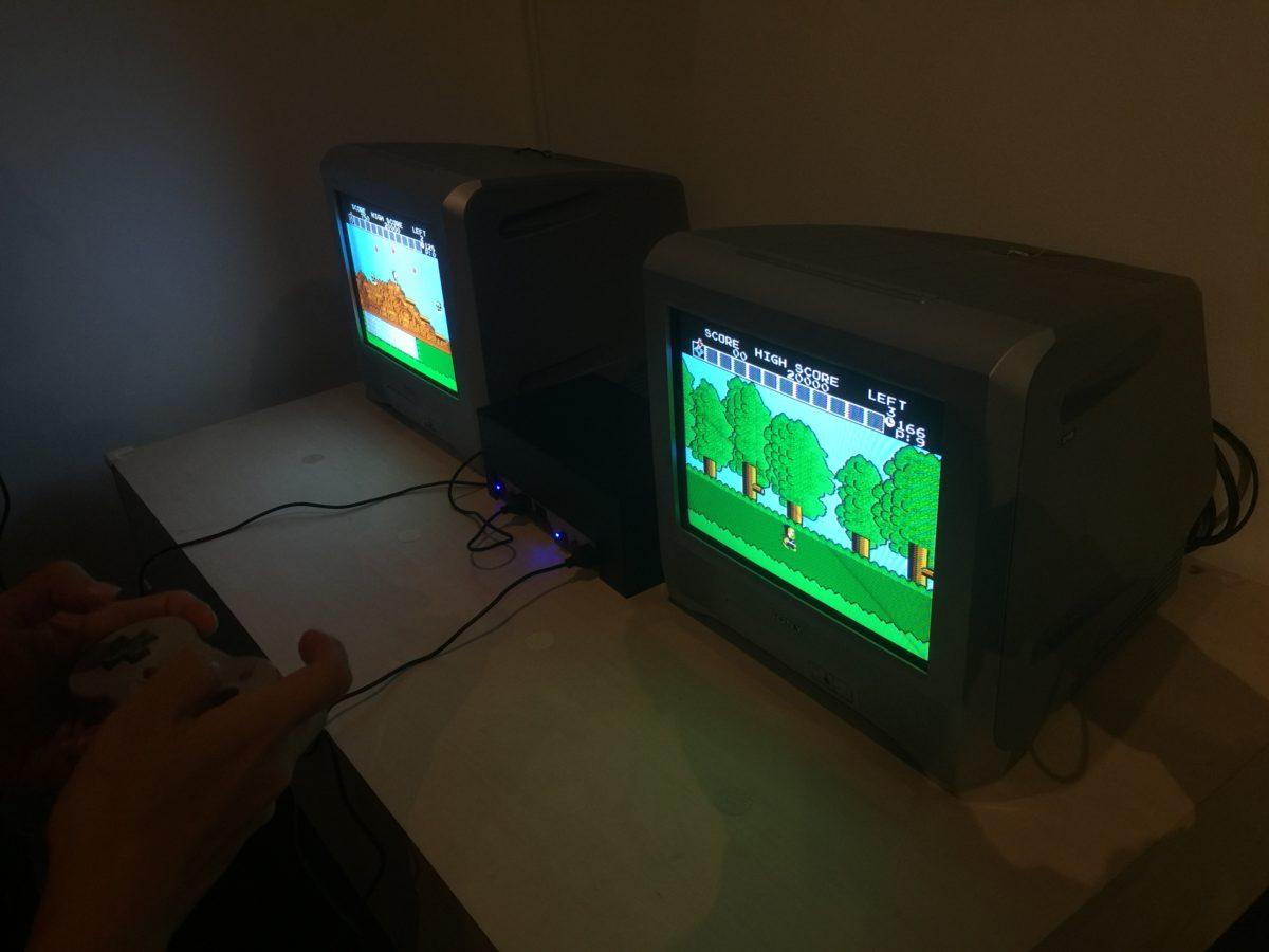 「藤子不二雄Ⓐ展」の忍者ハットリくんのファミコンゲーム