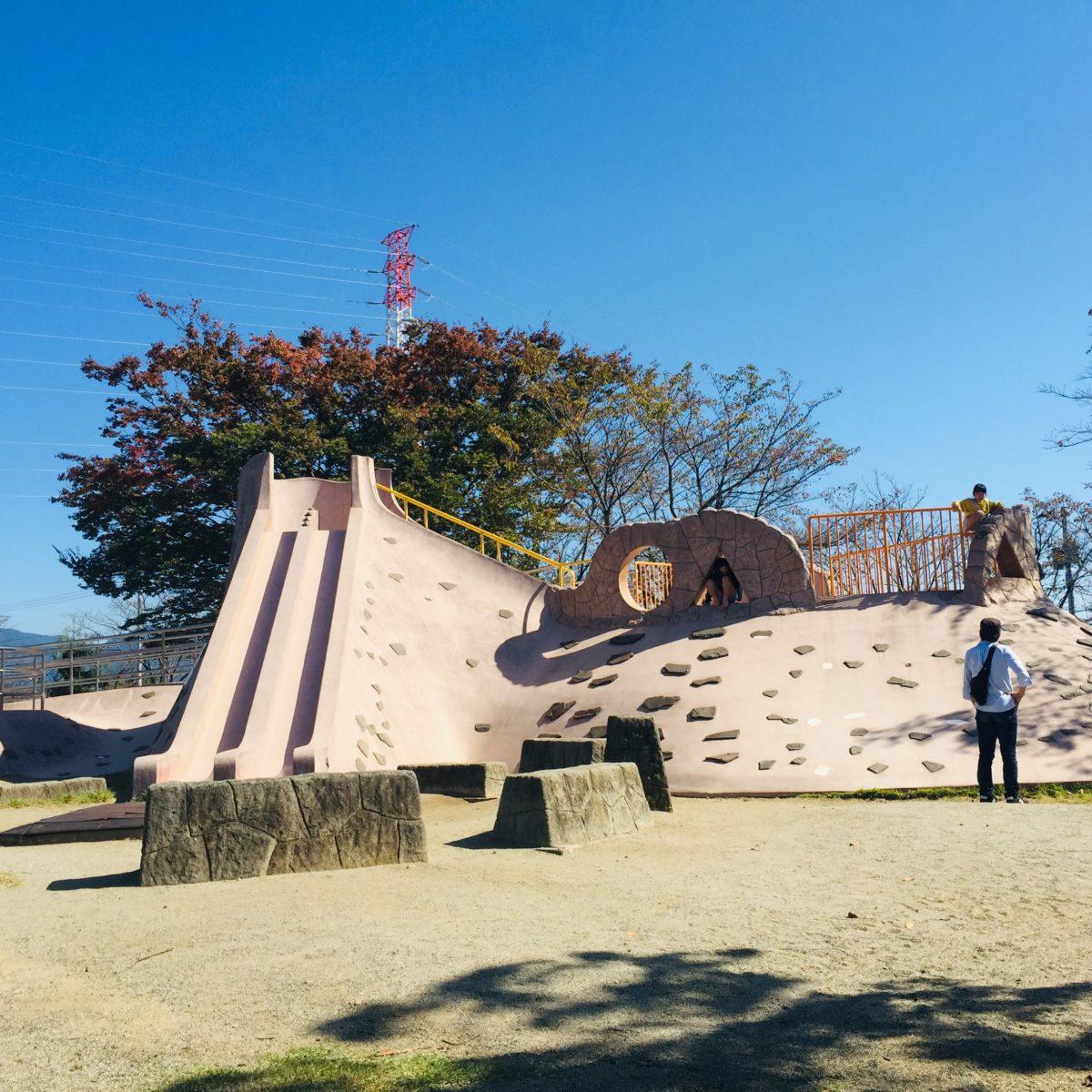 赤坂台総合公園にある滑り台全景