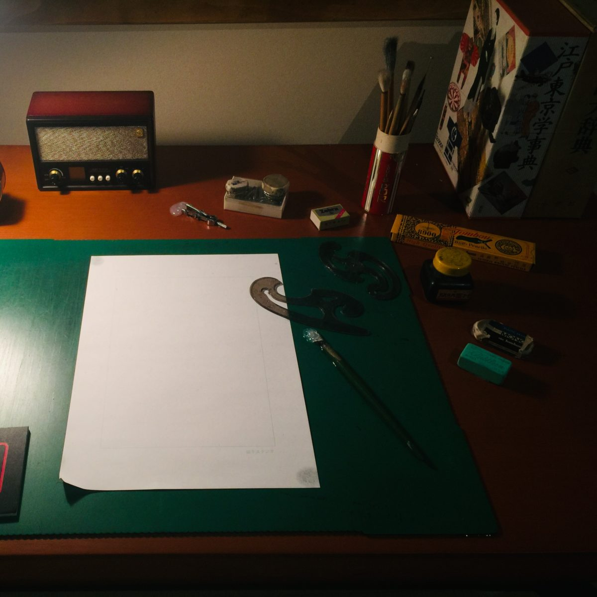 「藤子不二雄Ⓐ展」での澄んでいたトキワ荘の机の再現