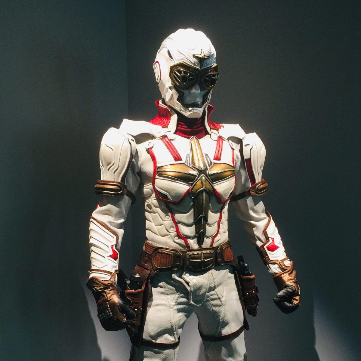 「藤子不二雄Ⓐ展」での立体化されたシルバークロス
