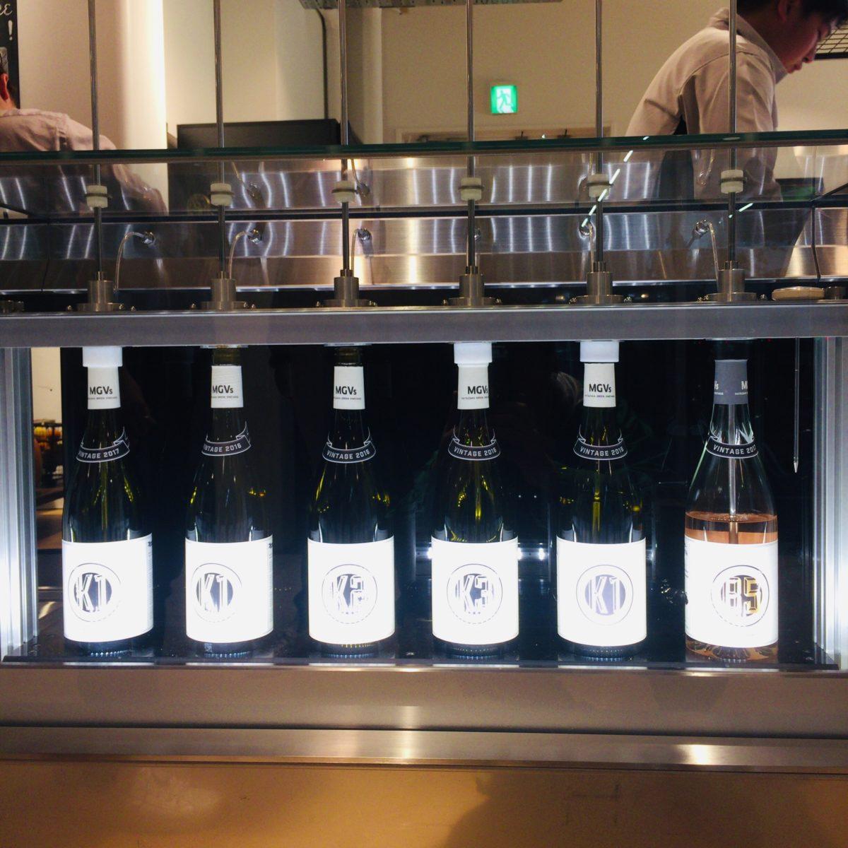 MGVsワイナリーの試飲ワイン