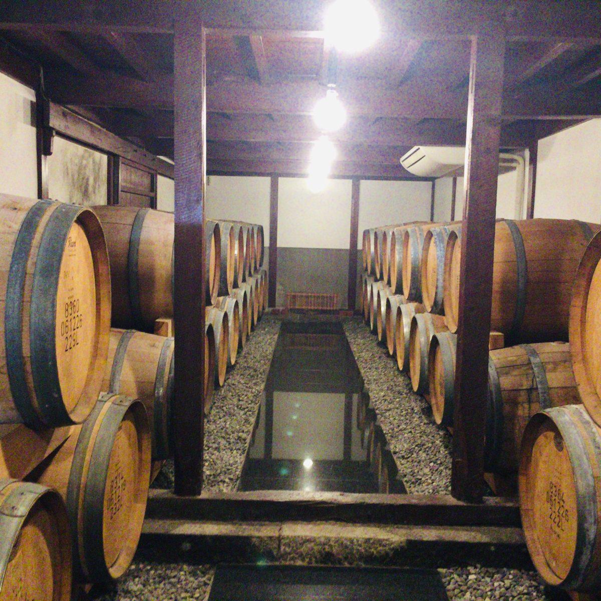 勝沼醸造の樽