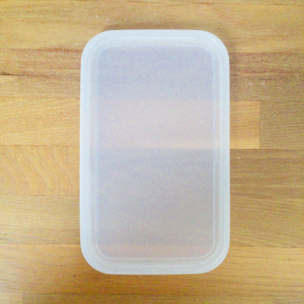 粉もの保存容器のフタ