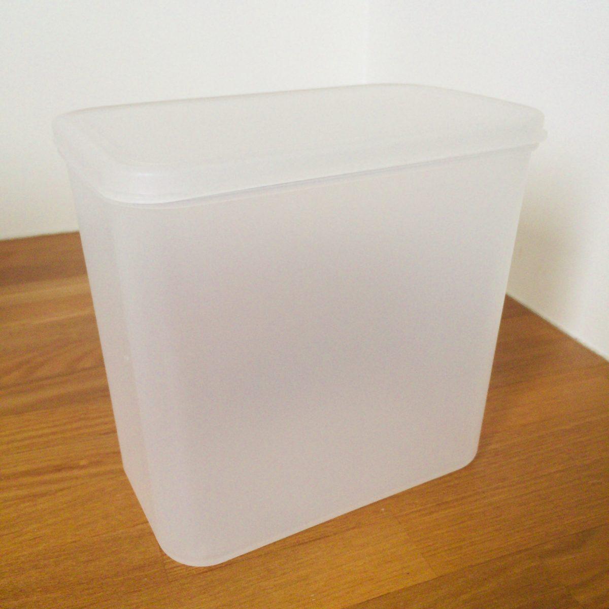 無印良品「粉物保存容器」