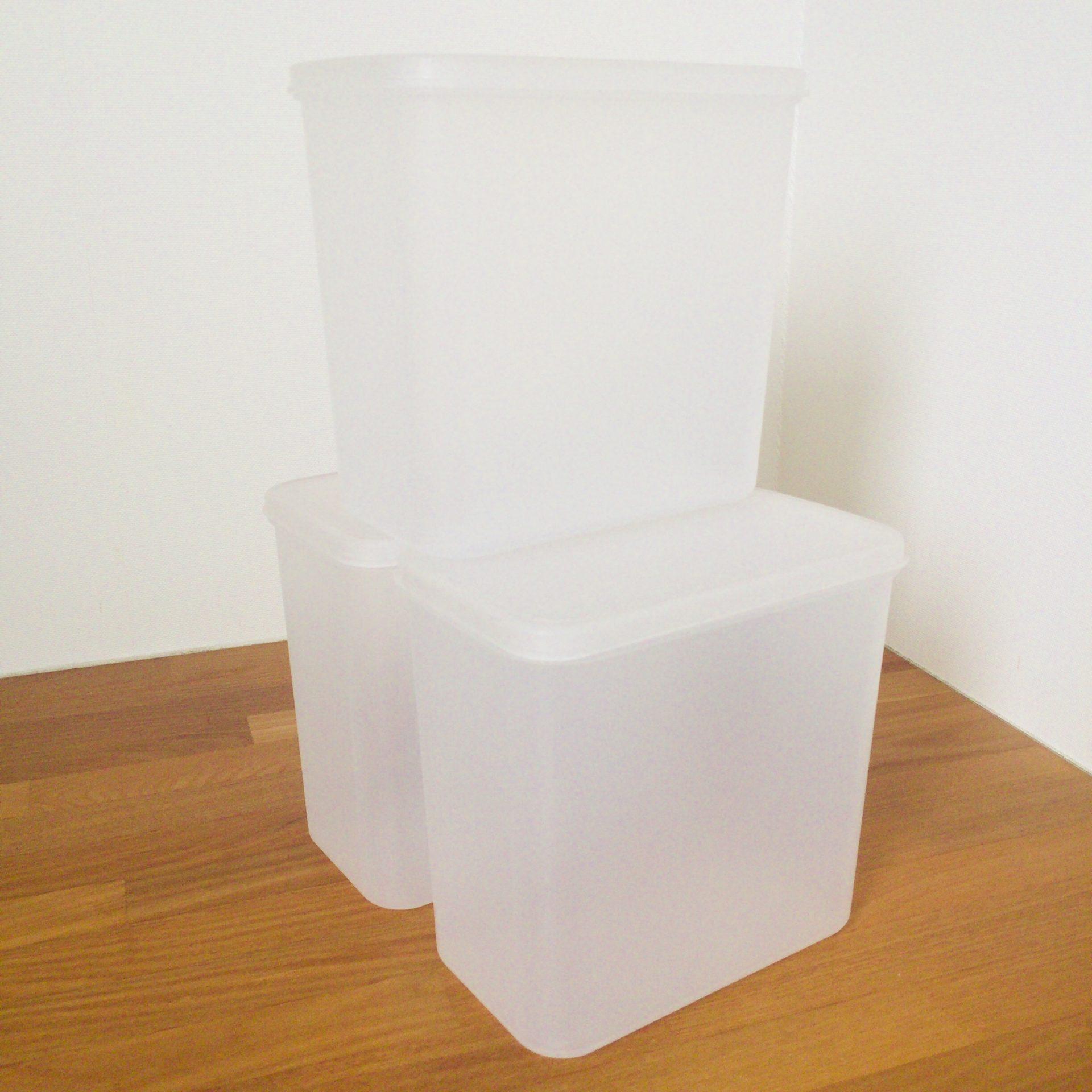 無印良品「粉もの保存容器」