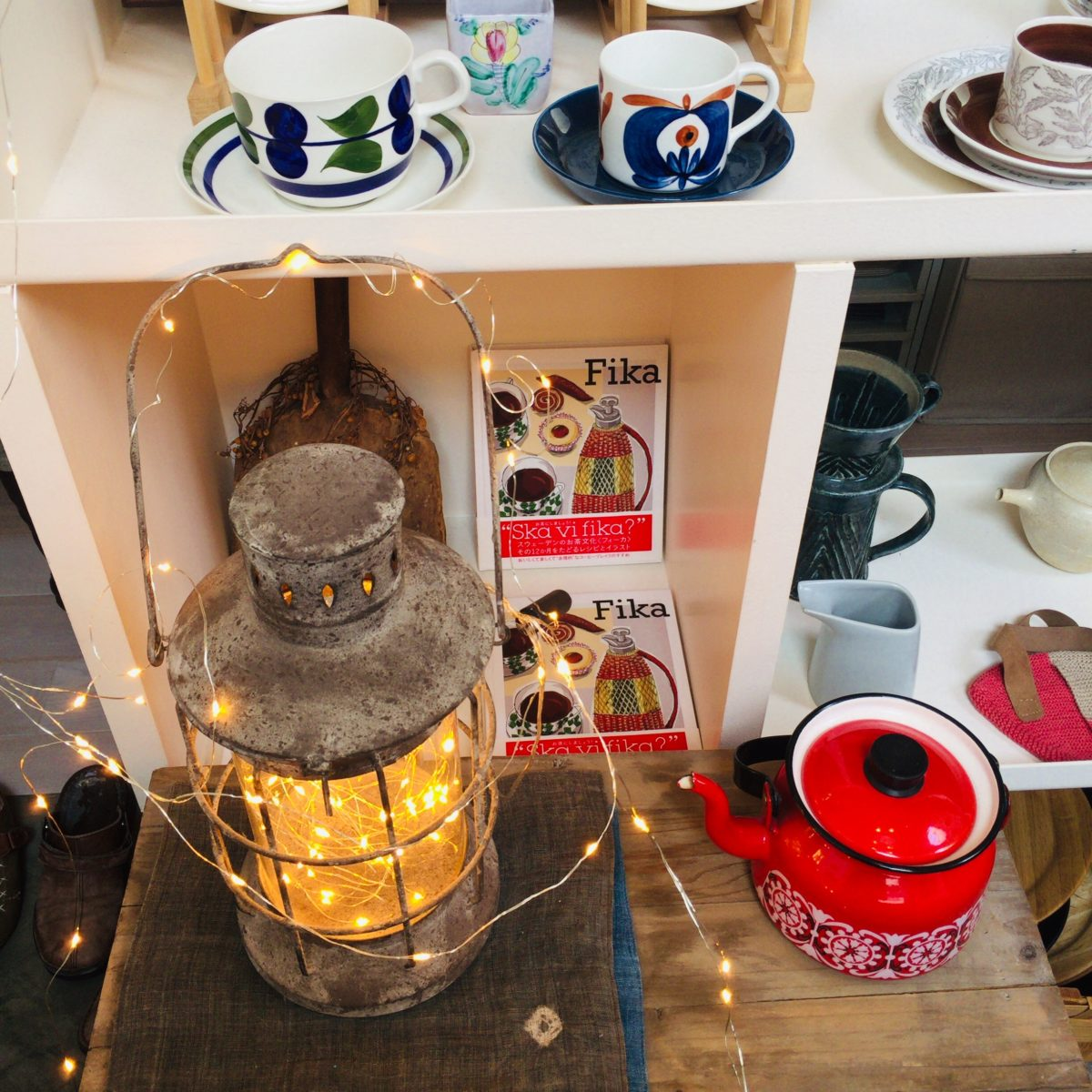 北欧雑貨の店「FIKA」クリスマスイルミ