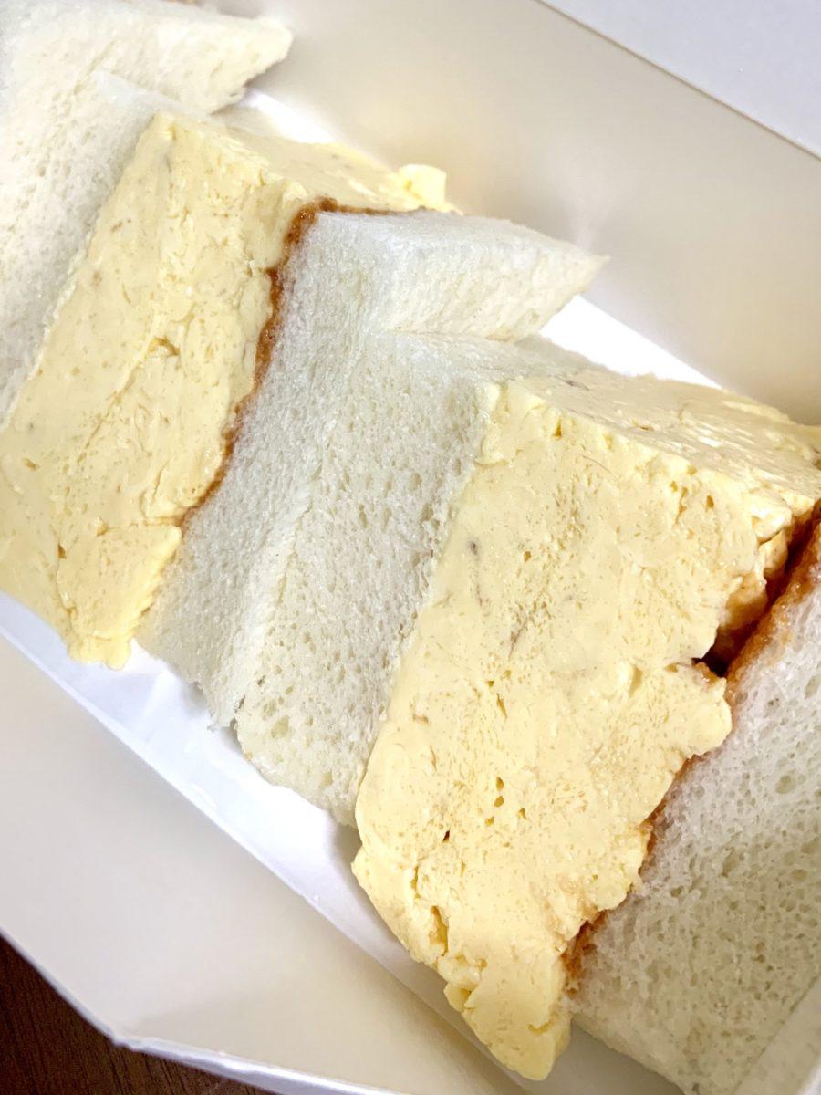 LA MADRAGUEの玉子サンド