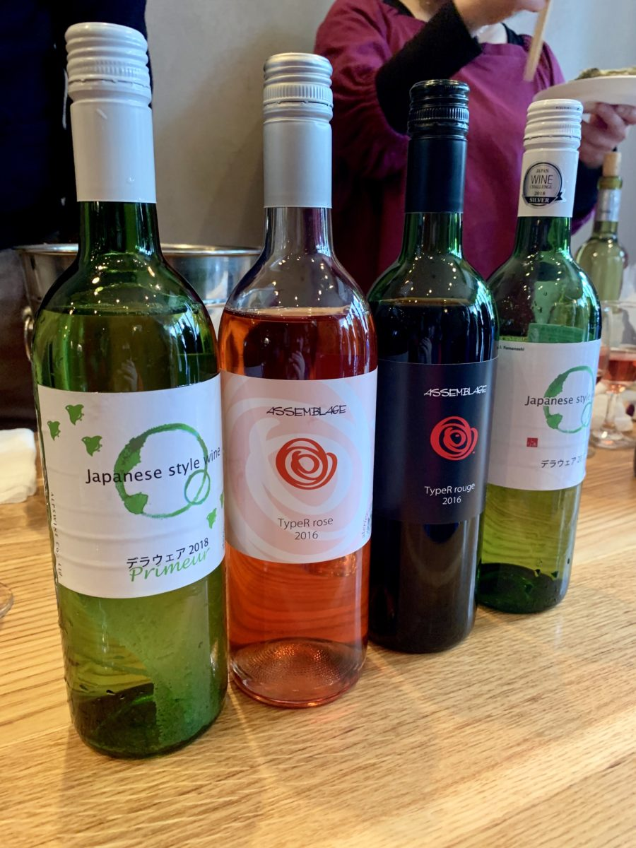 アルプスワインの甲州ワイン