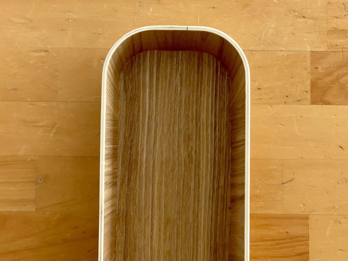 無印良品「木製 ケース」接写