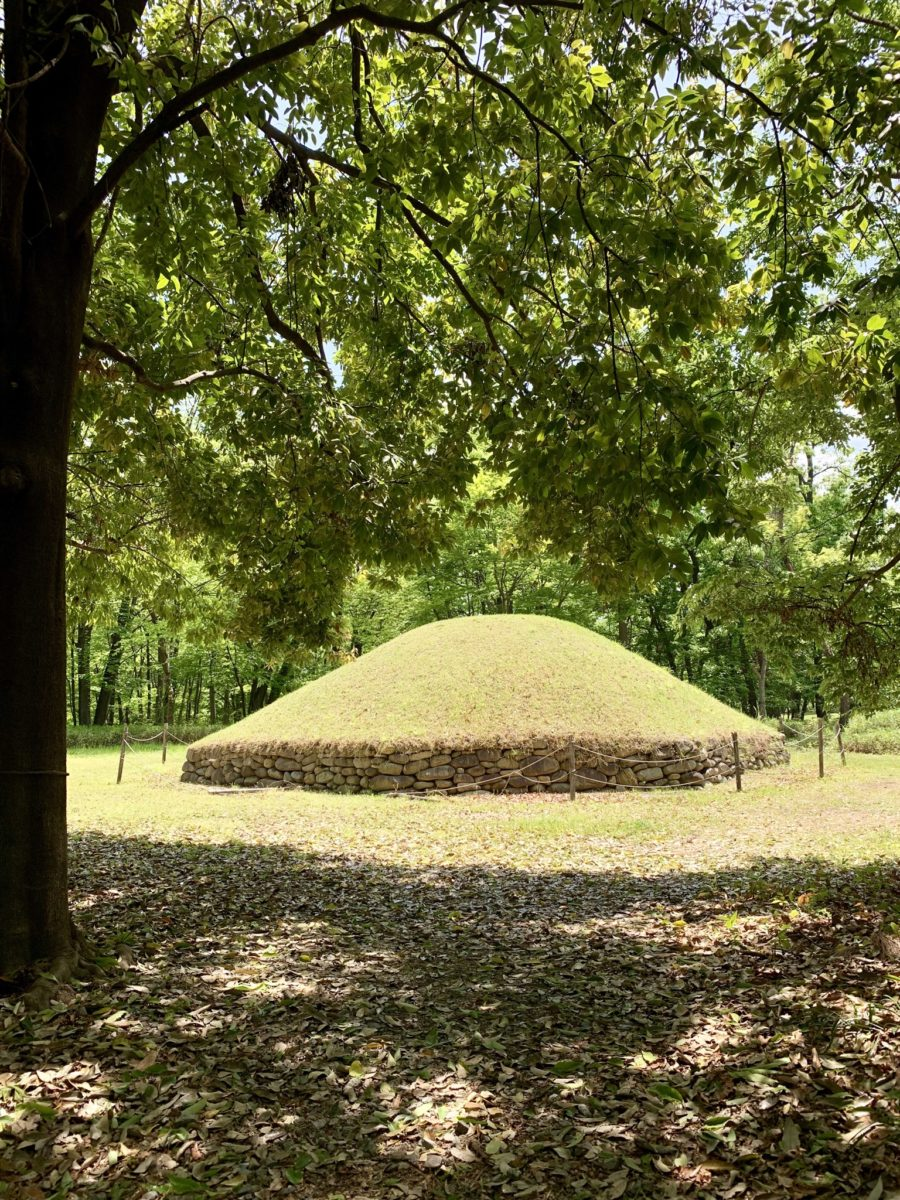金川の森の経塚古墳
