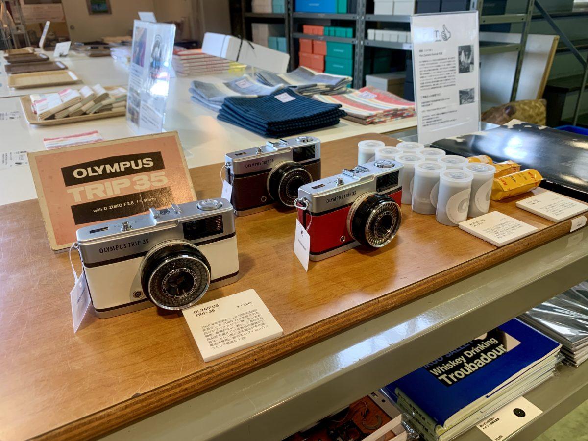 D&DEPARTMENT静岡店のフィルムカメラ