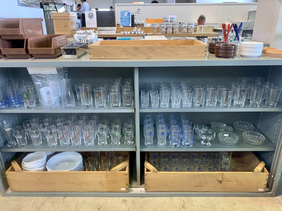 D&EPARTMENT 静岡店のUSED食器