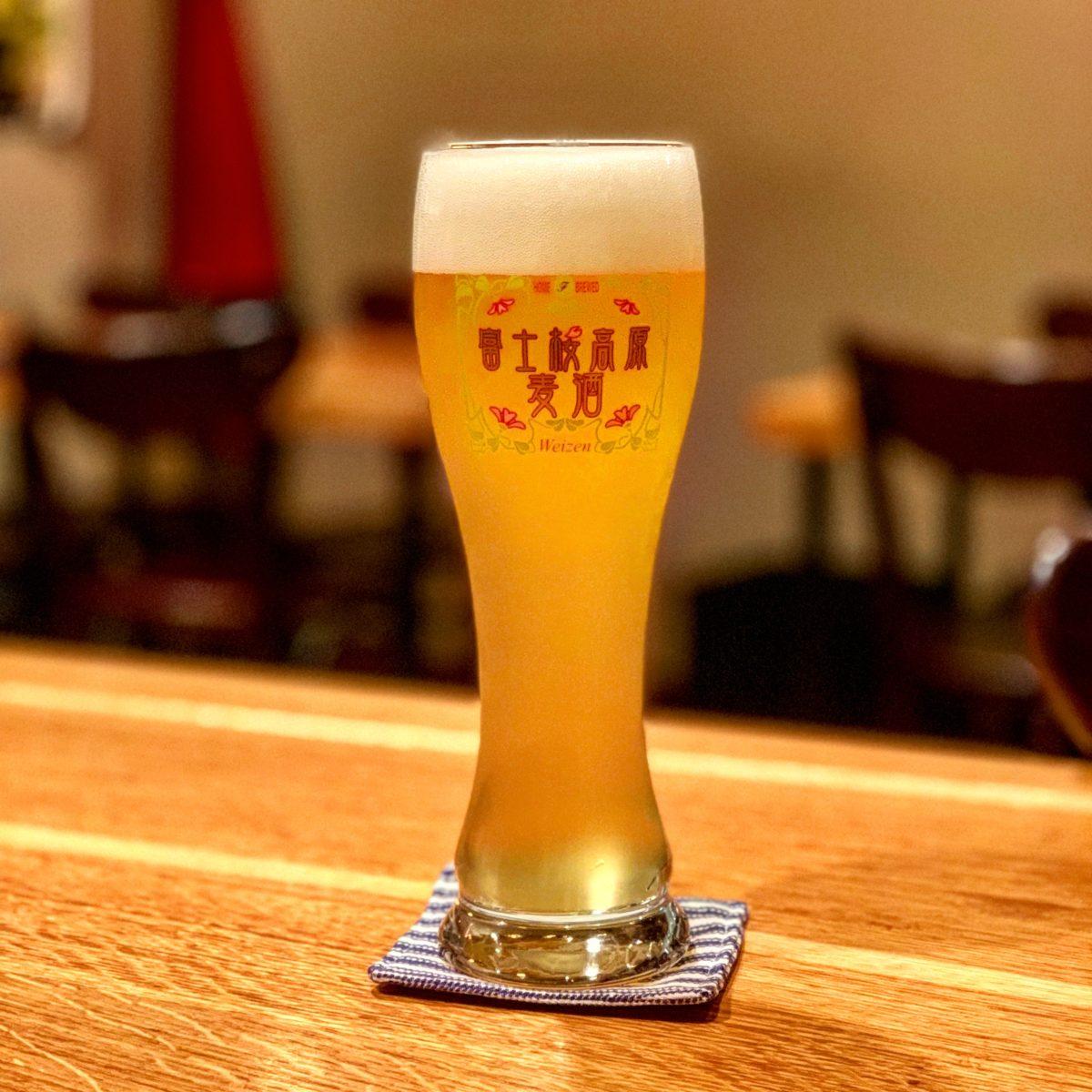 富士桜高原麦酒の「ゆずヴァイツェン」