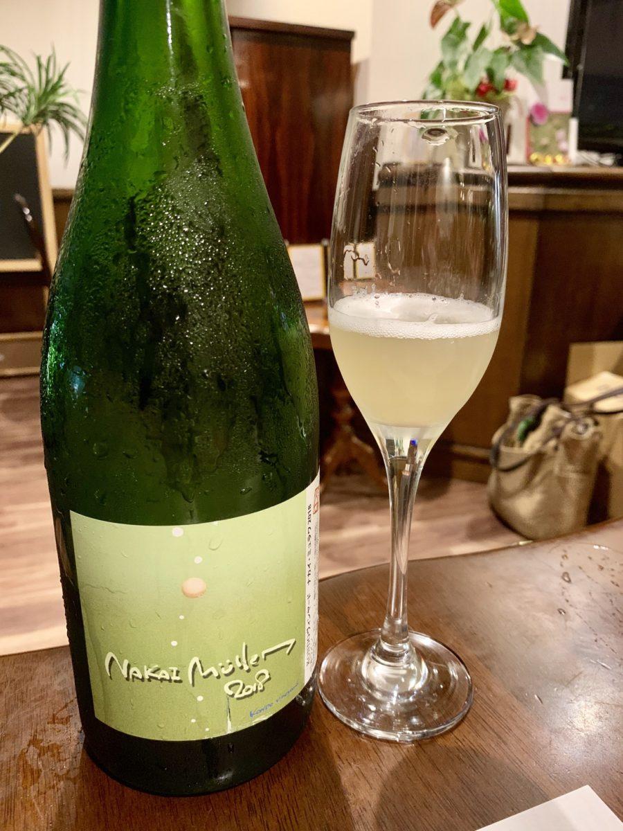 KONDOヴィンヤード ナカイ・ミュラワ2018 / 栗澤ワインズ 北海道