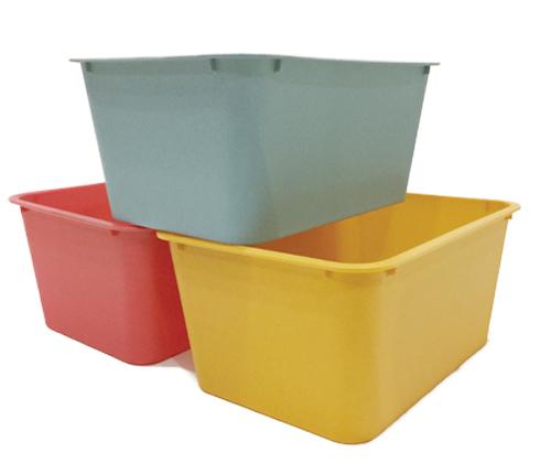 ダイソー カラー収納ボックス