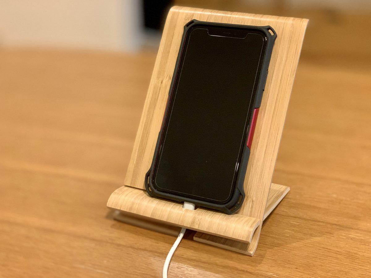 IKEAで買った携帯電話ホルダー