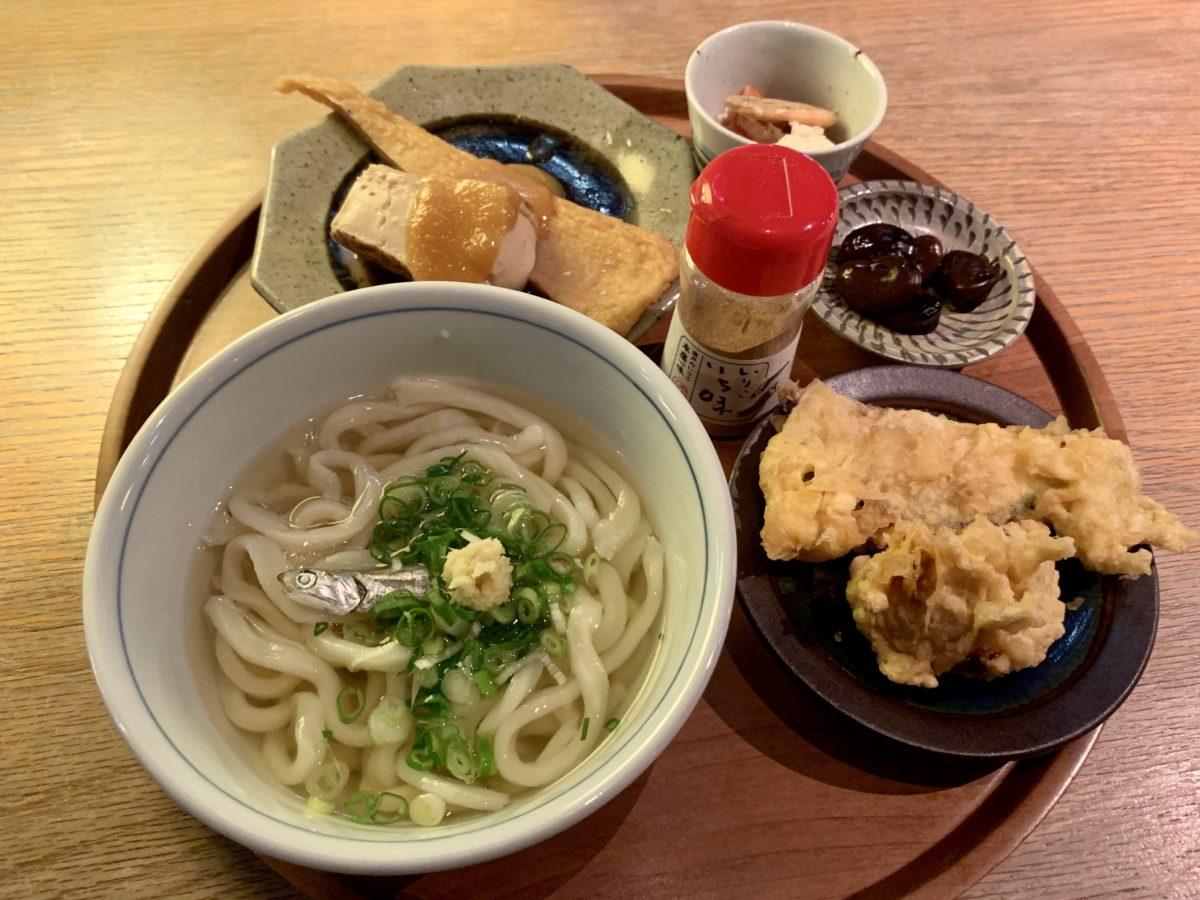 d47食堂で食べた香川定食