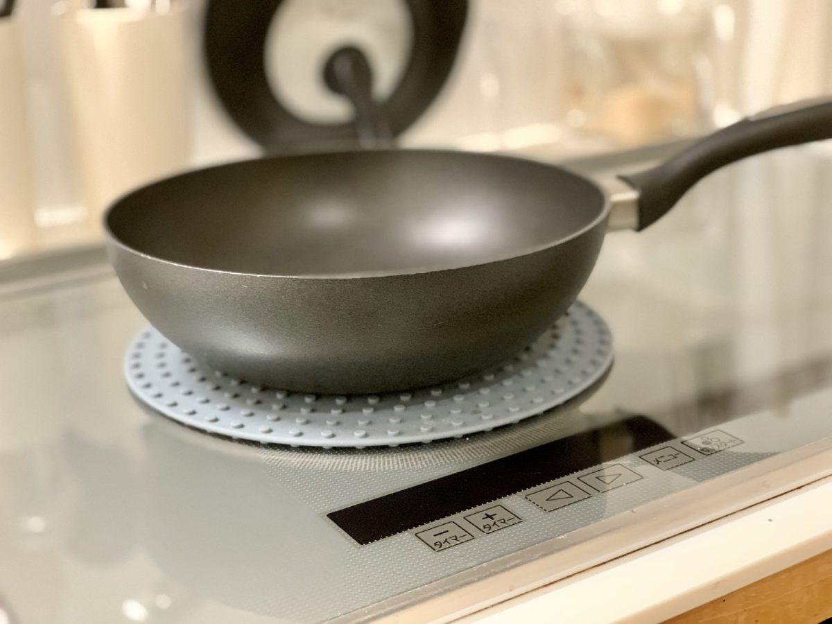 IKEAで買ったシリコーン鍋敷き