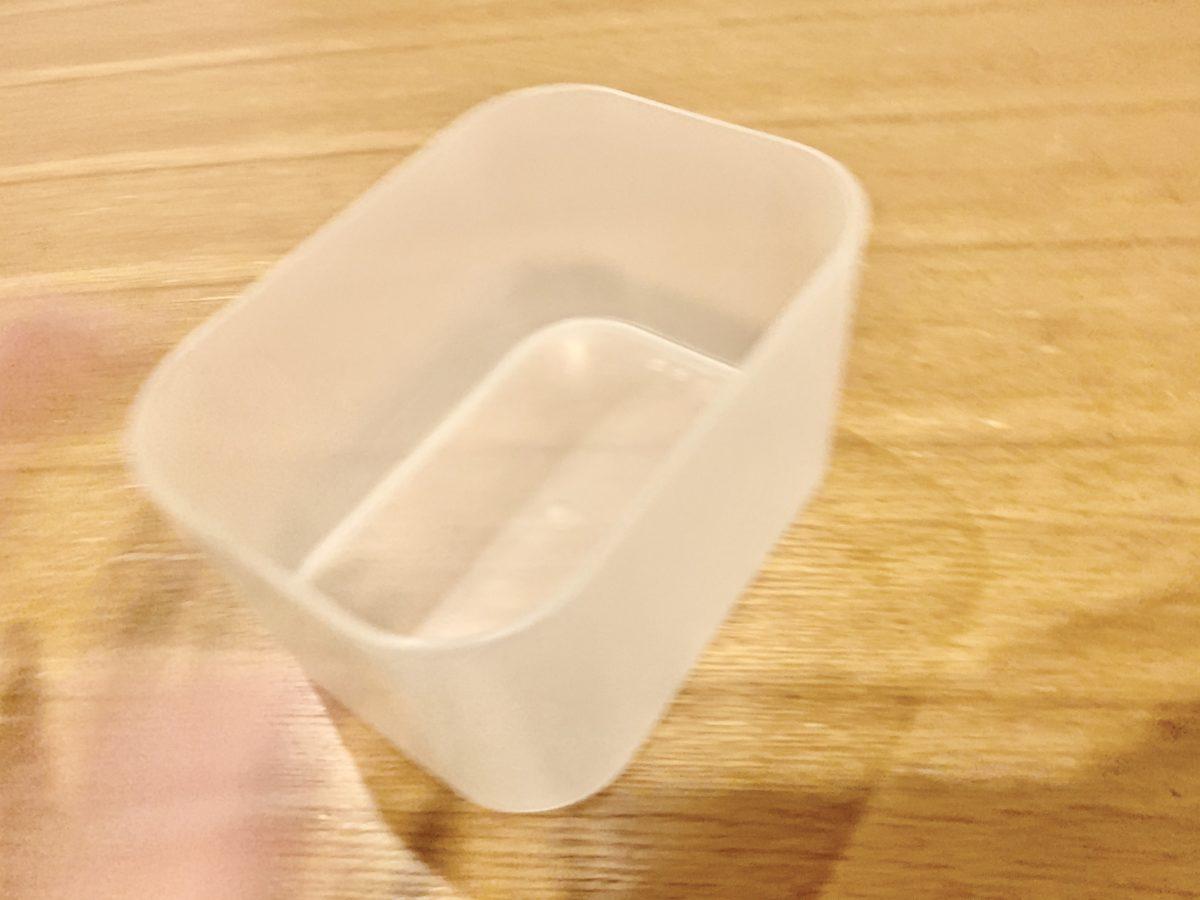 ポリプロピレンメイクボックス 1/2横ハーフ