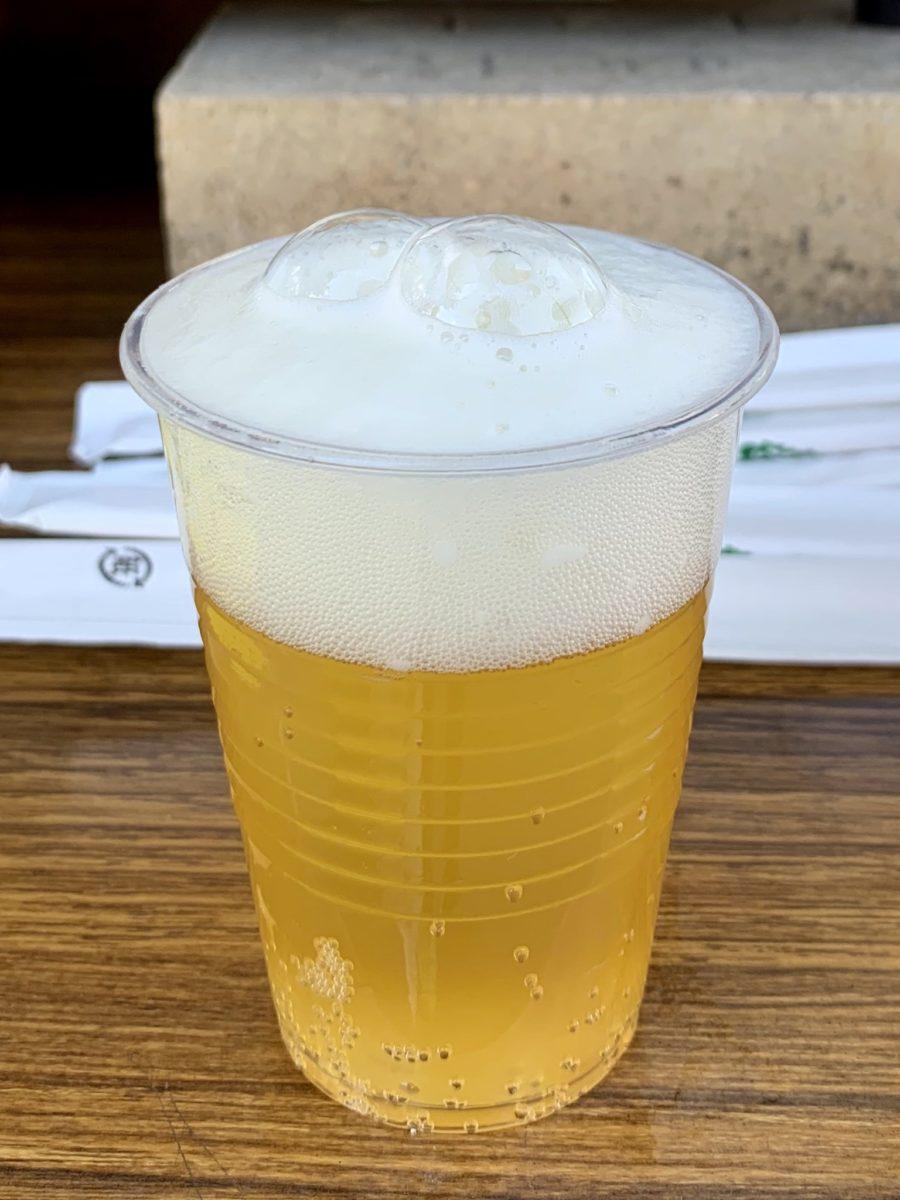 ワインツーリズムやまなし2019・秋 甲府会場のビール