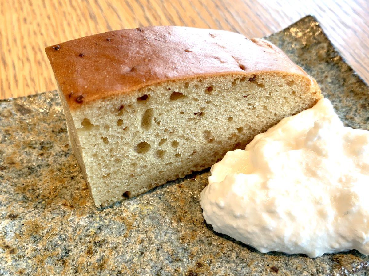 五味醤油の味噌を使った味噌ケーキ