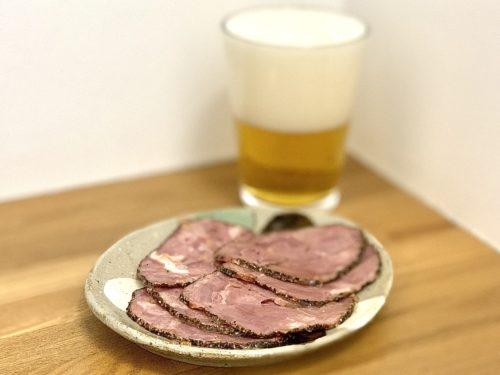 ビールととんタンスライスペッパー / 伍魚福