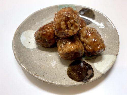 イートベジ 5種の野菜入り大豆ミートの肉団子 / ヤヨイサンフーズ