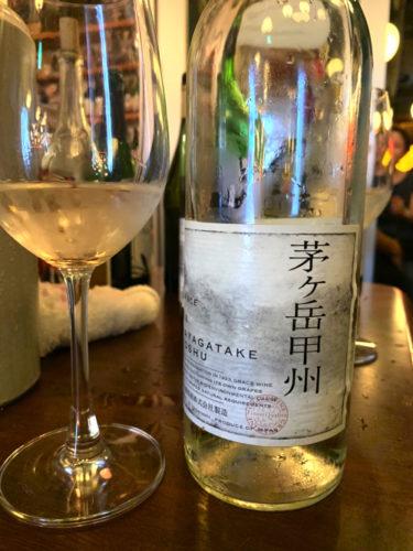 茅ヶ岳甲州 2018 / グレイスワイン