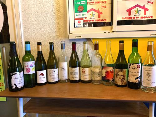 新月無尽で飲んだ日本ワイン