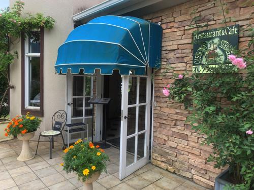 木ノ花美術館直営レストラン「オルソンさんのいちご」入口