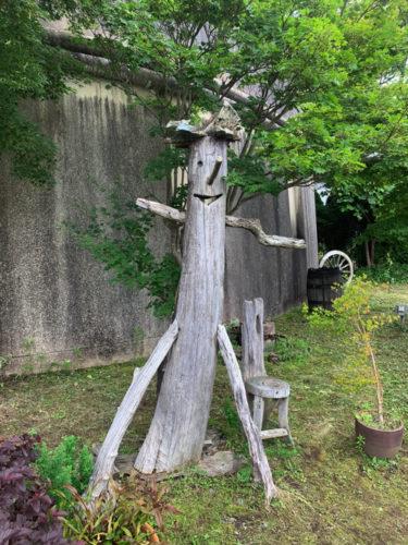 河口湖木ノ花美術館の庭